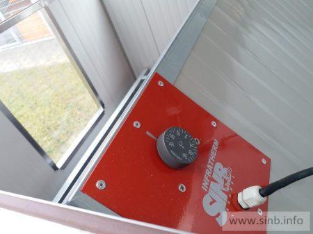 Infrapanel Heizung für REB-150 Wurfhaus