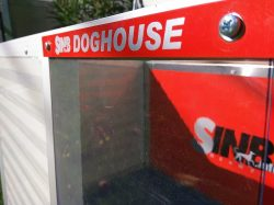 Thermovorhang für Hundehütten
